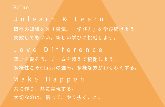 Value Unlearn&Learn, Love Difference, Make Happen